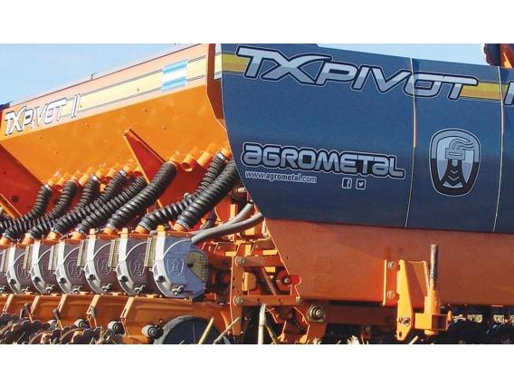 Sembradora De Grano Grueso Agrometal Tx Pivot Ii 21-35