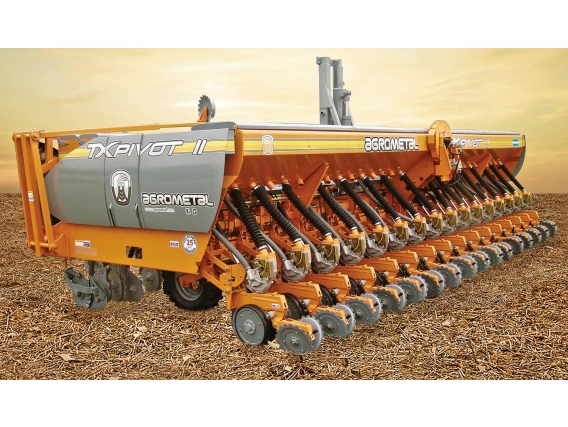 Sembradora De Grano Grueso Agrometal Tx Pivot Ii 10-70