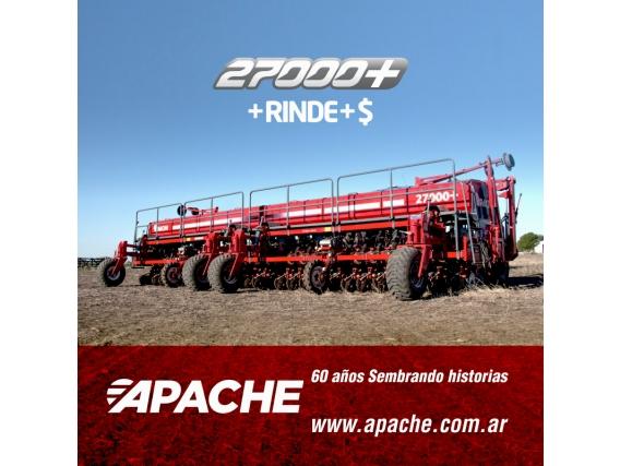Sembradora De Grano Grueso Apache 27000