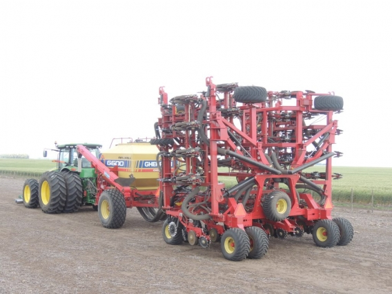 Sembradora Doble Plegado Air Planter G-600