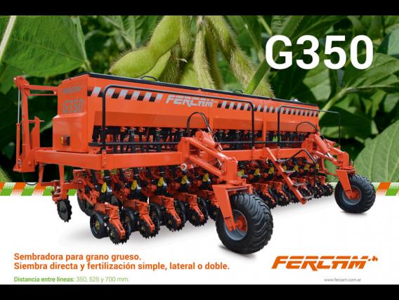 Sembradora Fercam G350