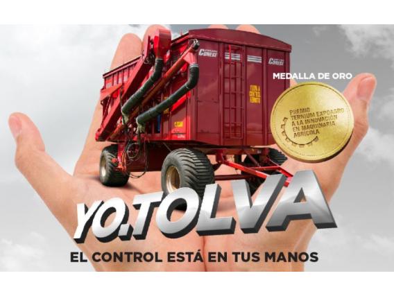 Semillas Y Fertilizantes Acoplados Conese Yo Tolva 22Tn