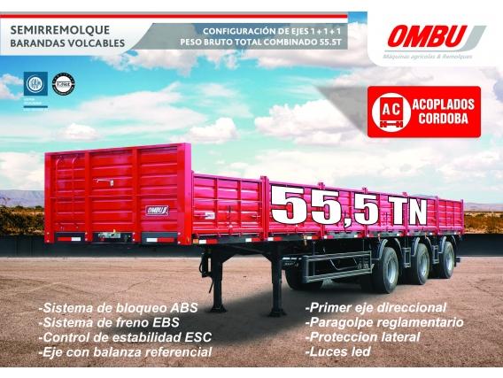 Semirremolque Ombu 111 55,5 Tn