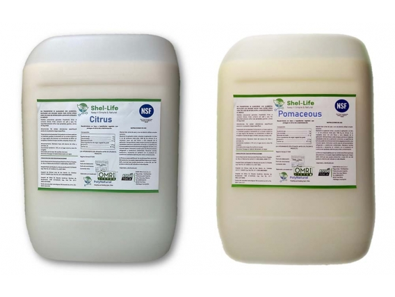Recubrimiento natural Shel Life Citrus / Shel Life Pomaceas Agro Roca