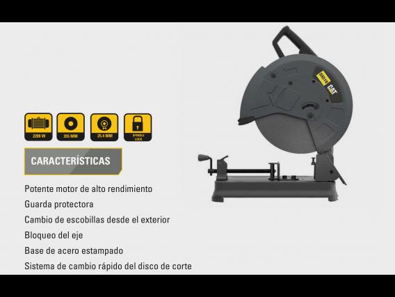 Sierra Sensitiva Cat Dx519 355Mm