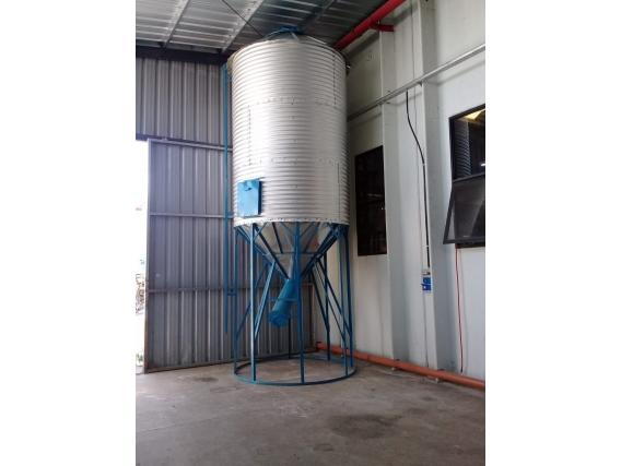 Silo Aéreo Metalúrgica Menonita 30 Ton