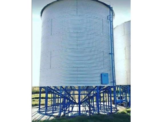 Silo Industria Menonita Schiel Con Base Especial 30 Tn