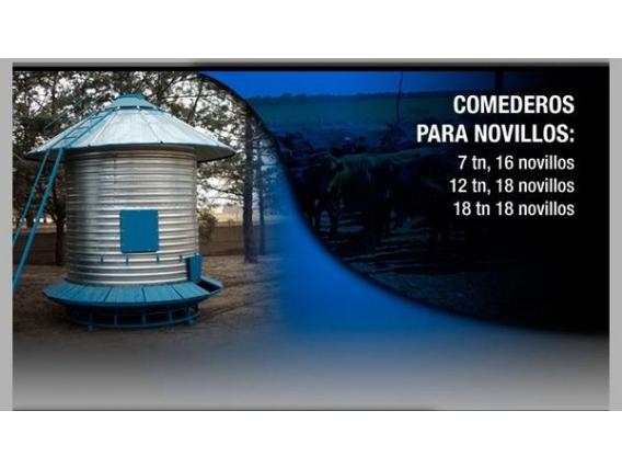 Silos Comederos Colonia Menonita La Pampa.