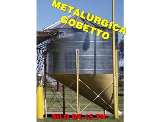 Silos De Almacenaje De 15 Ton Metalurgica Gobetto