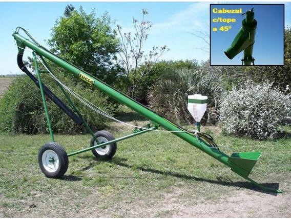 Sinfín Cargador De Semillas Zucco Transportable