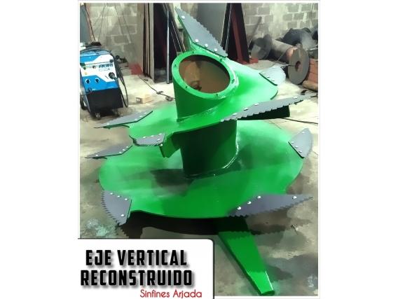 Sinfin Vertical Arjada Para Gea, Montecor Reconstruido