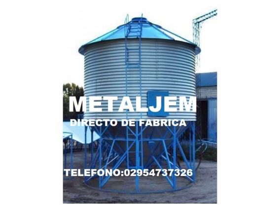 Somos Fabricantes..silo Aereo De 40 Toneladas