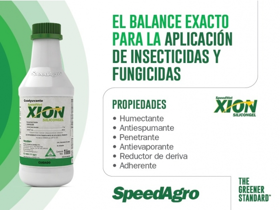 Coadyudante SpeedWet Xion Silicongel - SpeedAgro