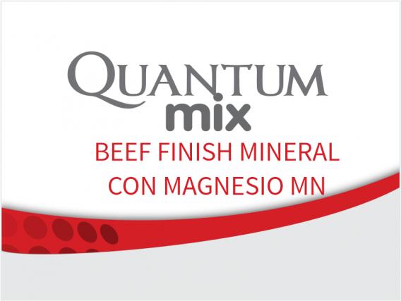 Suplemento Quantum Beef Finish Mineral Con Magnesio Mn
