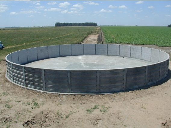 Tanq Austr Sola Hidrotecnología Construcción 290000 Lts