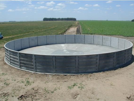 Tanq Austr Sola Hidrotecnología Construcción 482000 Lts