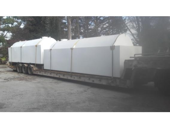 Tanque Talleres Vial 20000 Lts Con Batea Anti Derrame