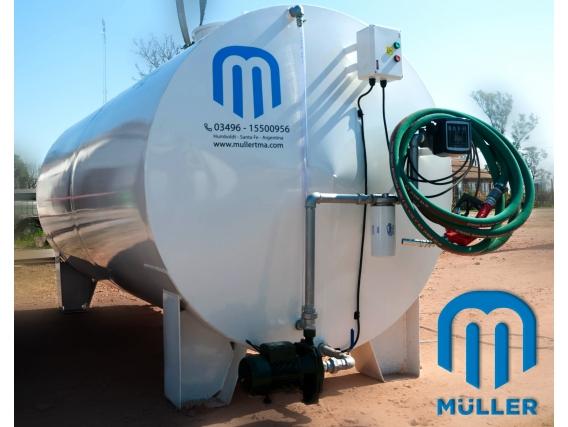 Tanque Aéreo Para Depósitos Y Carga De Combustible