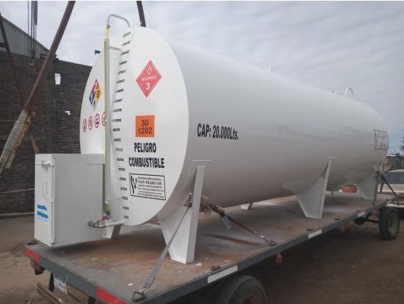 Tanque Aéreo Para Deposito De Combustibles 20M3