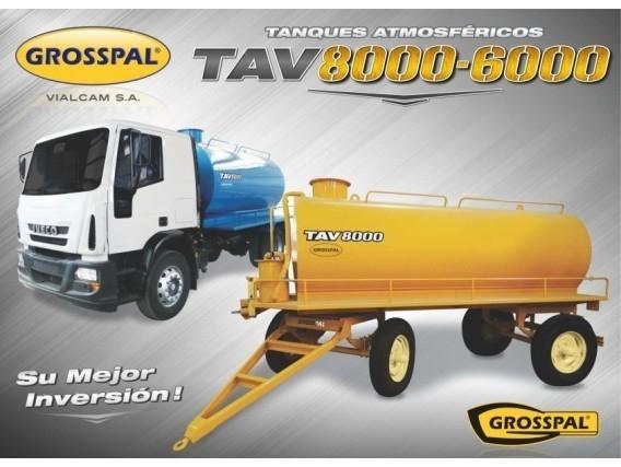 Tanque Atmosférico Grosspal Tav 8000