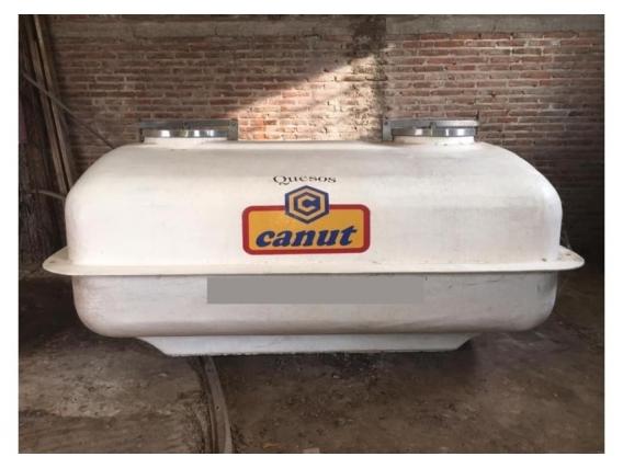 Tanque Cafito Fibra Año 2001 4500L