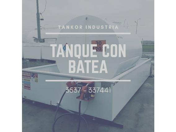 Tanque Con Batea 1.000 Litros Tankor Industria
