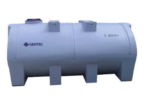 Tanque Horizontal Geotec Th 8000