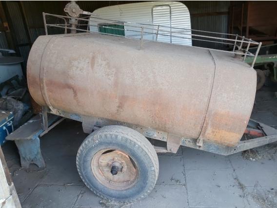 Tanque Para Gas Oil De 1500Lts,el Potrito,bomba Manual.