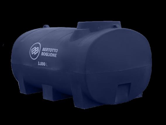 Tanque Plástico 3000L. Apto Gasoil
