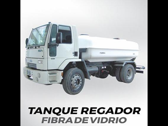 Tanque Regador Grosspal Tfv 8000 De Fibra De Vidrio