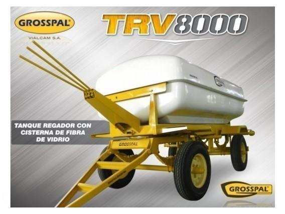 Tanque Regador Grosspal Trv 8000 Con Cisterna