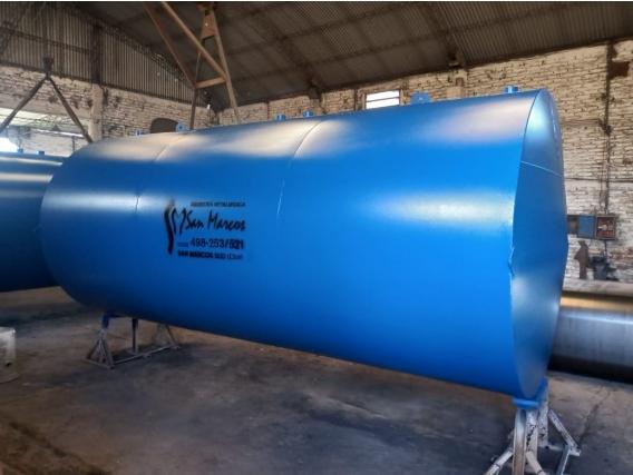 Tanque Subterráneo 30000 Lts Dividido En Dos Cisternas
