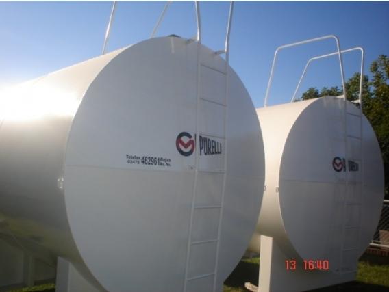 Tanques De Acero - Capurelli - Combustibles - Cisterna