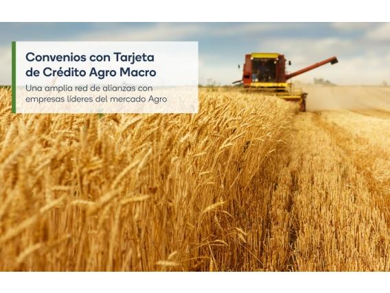 Tarjeta De Crédito Agro - Tecnomyl