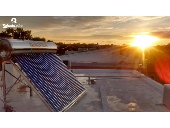 Termotanque Solar Acero Inoxidable - Rfs - 150Lts -15Ac