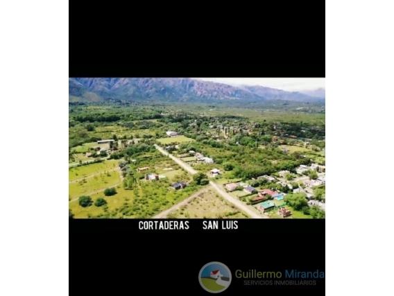 Terreno En Venta - Cortaderas - San Luis