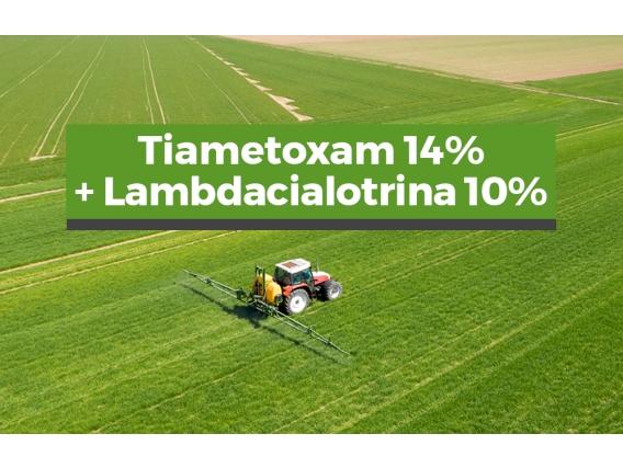 Insecticida Tiametoxam 14% + Lambdacialotrina 10%