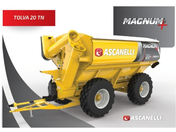 Autodescargable Ascanelli 20 Tn- 9 De Julio, Bs. As.