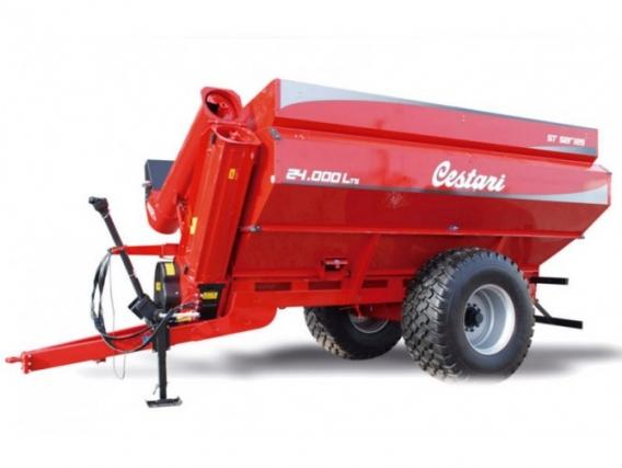 Tolva Autodescargable Cestari St Series 24000 Lts 2R