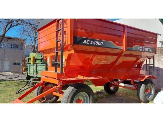 Tolva Fertilizante 14Tt Gimetal Disponible