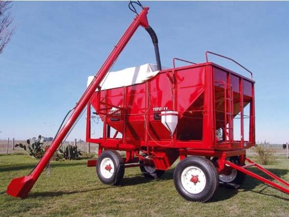 Tolva Ombu Para Fertilizantes Y Semillas 11 M3