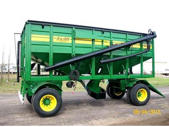 Tolva Semilla Y Fertilizante J Y M 20/22 Tn