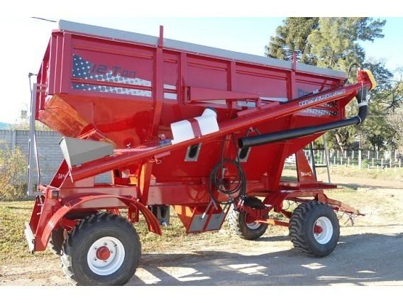 Tolva Semillera Y Fertilizantes Metalpaz 12 Tn