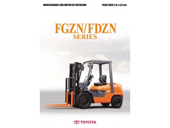Toyota Autoelevador Fgzn30