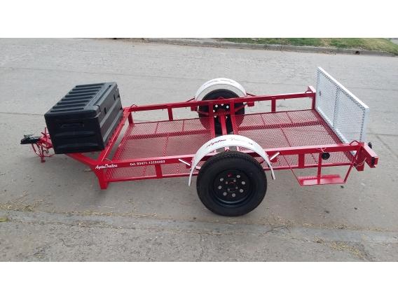 Tráiler Para Quads O Mini Tractor.