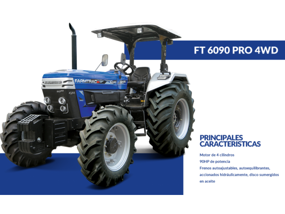 Tractor 6090 Pro 4Wd