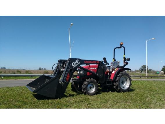 Tractor Apache Solis 26 Dt Con Pala Frontal Liviana Gyp
