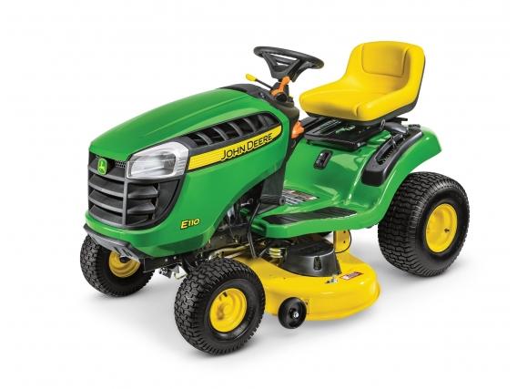 Tractor Cortacesped John Deere E110