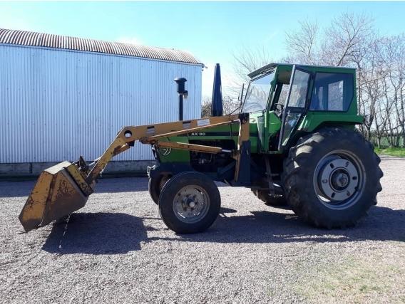 Tractor Deutz Ax 80 Con Pala Frontal