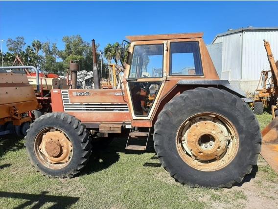 Tractor Fiat Agri R120 D/t Con Cabina